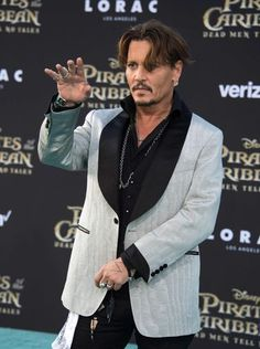 Johnny Depp made sure the premiere of 'Pirates of the
