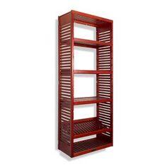 "ClosetMaid 53"" W Closet System   Birch Lane Deep Closet, Closet Rod, Best Closet Systems, Home Collections, Adjustable Shelving, Decor Styles, Solid Wood, Interior Decorating, Shelves"