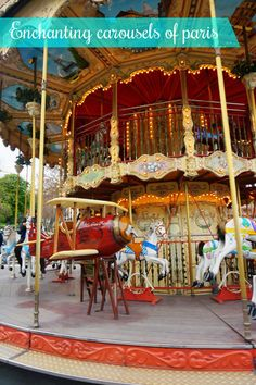 The enchanting carousels of Paris