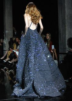 Zuhair Murad Haute Couture Fall/Winter 2015-16, Paris Fashion Week.