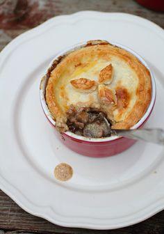 Beef and mushroom pot pies by Adventuress Heart, via Flickr