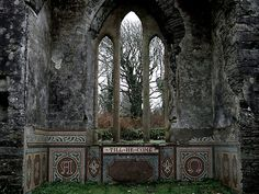 Ruins of the Church - Castlefreke, Co. Cork, Ireland