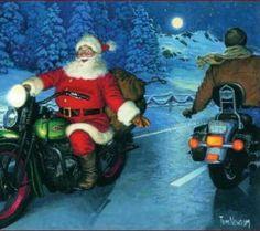 fröhliche Weihnachten allen Bikern ohne Saisonkennzeichen ;)
