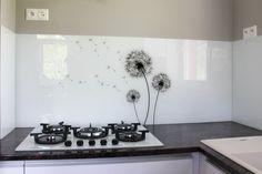 Sklenená kuchynská zástena LKZ - 056