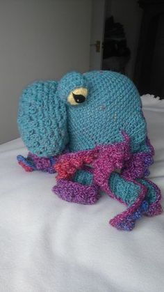 Ravelry: Octopus Hat pattern by Me :)