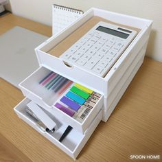 100均セリアのA5引き出しボックス・ラックの収納ブログ画像 Small Room Organization, Home Office Organization, Office Storage, Organization Ideas, Muji Storage, Stationary Storage, Home Storage Solutions, Gamer Room, Store Displays