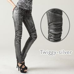 TWIGGY (Black) $263.00 • 12oz Stretched Denim • Elastic shirring ...