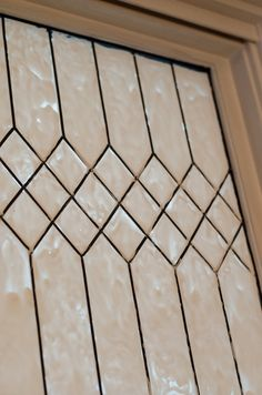 Faux leaded glass window - I am doing this!  Mirrors and/or Front Door!