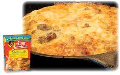 Quick & Easy Recipes -Fiesta Breakfast casserole