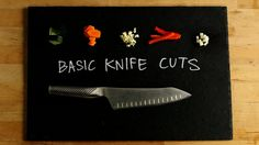 Sharpen Your Knife Skills With These 5 Basic Techniques!: Before you start chopping up a storm in the kitchen, make sure you've got basic knife skills in place.