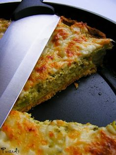 Brokkolis quiche