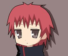 If Sasori was a lucky star character he would look like this X3