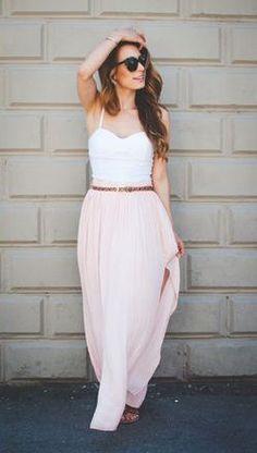 #summer #fashion / pastels