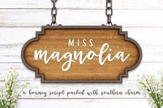 Miss Magnolia by everytuesday on @creativemarket