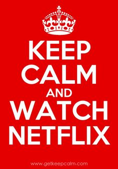 Seriously, when I'm sad I just turn on Netflix, make some tea and drown everything in mindless tv shows.