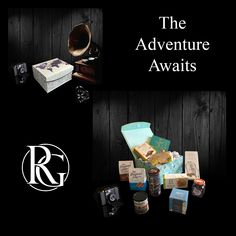Prepare someone up for adventure 🗺 Family Gift Baskets, Family Gifts, Luxury Hampers, Gift Box For Men, Hamper Ideas, Gift Store, Adventure Awaits, Birthday Gifts, Christmas Gifts