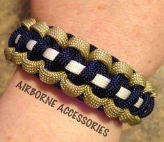 NFL  St Louis Rams  550 Paracord bracelet  by AirborneAccessories