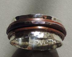 Geschmiedet Sterling Silber und Kupfer von susanlambertdesigns                                                                                                                                                                                 Mehr