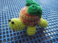 Tortuga en crochet