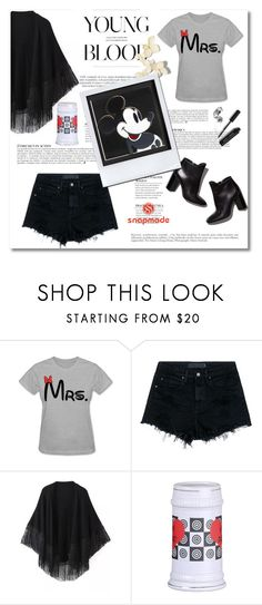 """""""Snapmade 7"""" by emina-turic ❤ liked on Polyvore featuring Alexander Wang, Pierre Hardy, Relaxfeel, Andy Warhol, Anja and Bobbi Brown Cosmetics"""