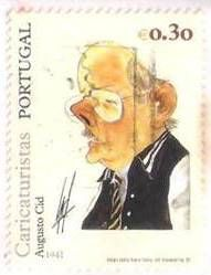 Cartonista e caricaturista português; Portuguese cartoonist and caricaturist;