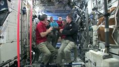 Chris Hadfield becomes the First Canadian Commander of the ISS