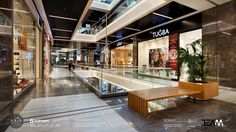 Shopping Center, Shopping Mall, Types Of Furniture, Office Interiors, Retail Design, Istanbul, Restaurant, Architecture, Modern