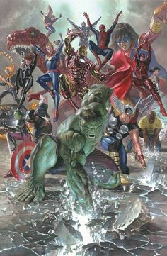 Marvel: Legacy Art by Alex Ross