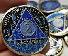 Sobriety Birthday Recovery Coins and Gifts