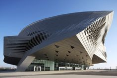 Dalian International Conference Center, Liaoning, China - by Coop Himmelb(l)au