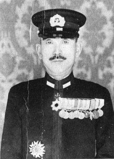 Japanese Admiral Raizo Tanka, a commander in the Imperial Japanese Navy during World War II.