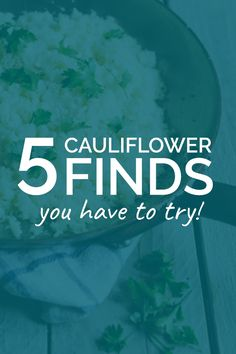 """A Love Letter to Cauliflower: 5 Ways To Try This Low-Carb Swap! Have you been formally introduced to the new """"it"""" veggie in town, cauliflower? Maybe you've seen it around, in soups or side dishes, but a new wave of uses has really brought this cruciferous champ into the spotlight as a low-carb alternative to many of your favorite ingredients. In addition to being a star in the low-carb cooking world, there are so many reasons to love cauliflower."""