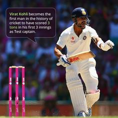 Virat Kohli brings up a brilliant 10th Test century. Virat Kohli* 111 (179) #CummonIndia #IndvsAus #ViratKohali