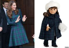 Hilarious article from Huffington Post on why Kate Middleton is actually just a grown up Samantha doll.