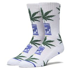 South Park Huf Plantlife Socks White | Marijuana Gift Dispensary for all marijuana enthusiasts out there