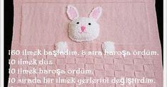 Merhaba arkadaşlar,bu tavşanlı cici battaniyemizi çok soran arkadaşım oluyor.  Bende ayrı ayrı tarif yazmak yerine bloguma ekleyeyim dedi... Kids Rugs, Baby, Home Decor, Decoration Home, Kid Friendly Rugs, Room Decor, Newborns, Infant, Interior Design