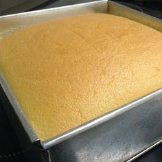 Baking Diary: Cheddar Cheese Sponge Cake (Ogura)