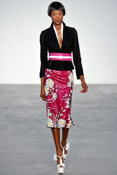 L'Wren Scott Spring 2014 Ready-to-Wear Collection Slideshow on Style.com
