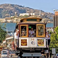 Riding a cable car is one of the top things to do in san francisco