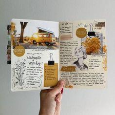 Travel Journal Ideas Travelers Notebook Link 42 Ideas For 2020 Bullet Journal Aesthetic, Bullet Journal Ideas Pages, Bullet Journal Inspiration, Art Journal Pages, Journal Prompts, Photo Journal, Bullet Journal Vision Board, Bullet Journal Travel, Bullet Journals