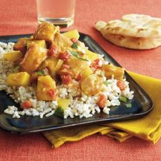 If you prefer milder foods, reduce or omit the crushed red pepper. Add warm naan on the side of this classic Indian dish.