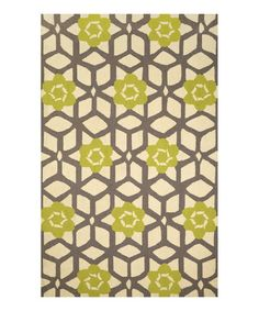 Love this Green Jacquelyn Wool Rug by nuLOOM on #zulily! #zulilyfinds