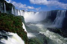 Iguacu Falls, Brazil: I'd take a break from my Carnavale festivities to experience the dramatic beauty of the Falls, Garganta do Diablo, and Rio Iguacu.