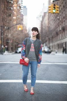 Pauline Fashion Blog avec le blouson Margaux Lonnberg. PARFAIT ! #paulinefashionblog #margauxlonnberg #blogmode #shopnextdoor #ootd