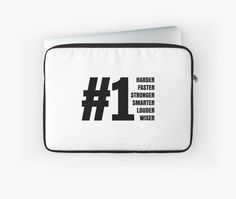 """""""#1"""" Laptop Sleeves by Omay   Redbubble"""