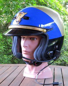 California Highway Patrol (CHP) Motorcycle Helmet. #harleydavidsonpolice