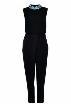 Sleeveless Crepe Jumpsuit - Just in - Shop - London-Boutiques.com