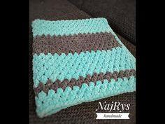 Crochet, Handmade, Blankets, Youtube, Hand Made, Chrochet, Craft, Blanket, Crocheting