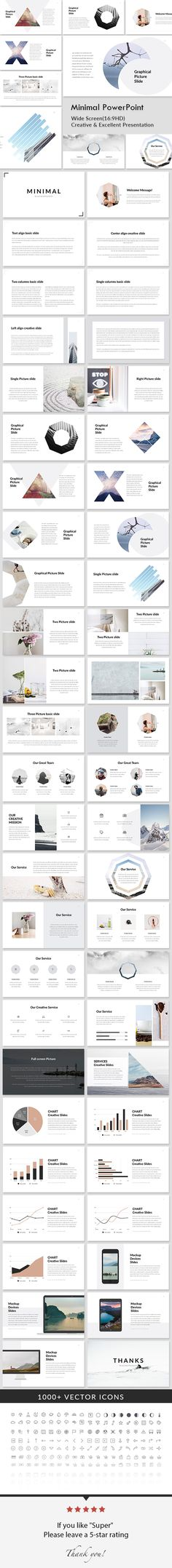 Minimal - Creative Powerpoint Presentation Template