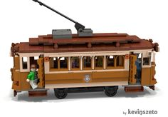 LEGO Ideas - Vintage Streetcar - That would be a great idea in any town.